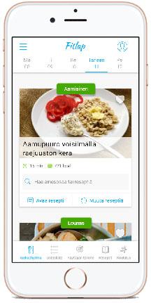 Fitlap menu mobile